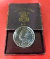 Inghilterra 5 Scellini 1951 Giorgius VI° Great Britain Festival Five Schillings Box Nikel Coin UNC - Other