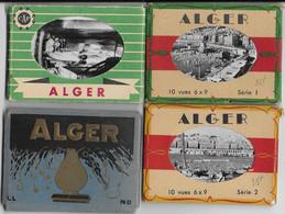 4 MINI CARNET ALGER / 40 VUES AU TOTAL - Alger