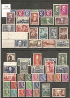 1938 Année Complète Neuve. Y&T N° 372**à418** Sans Charnière (sauf N°394** Avec Charnière.) TB. - ....-1939