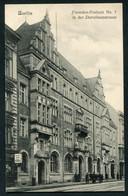 BERLIN - FREMDEN-POSTAMT IN DER DOROTHEENSTRASSE - Andere
