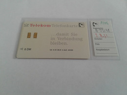 Germany - Nice A23/91 Second Issue - A + AD-Series : Publicitaires - D. Telekom AG