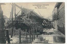 CPA   JUVIGNY  Inondation 1910,  Une Maison Ecroulée - Other Municipalities
