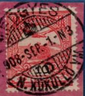 Medgyes Transsylvania Romania 1908 Full Cancel On Hungary 10 Fil Turul 2102.2001 - Poststempel (Marcophilie)