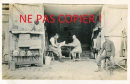 CARTE PHOTO FRANCAISE 322e RIT - POILUS AU CAMP OTTAWA A PLAILLY PRES DE SENLIS - CHANTILLY OISE - GUERRE 1914 1918 - Guerra 1914-18