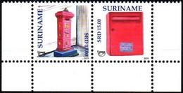 Surinam 2011 ** YT2256-57 América Upaep, Buzones De Correos. America Upaep, Mailboxes. - Suriname