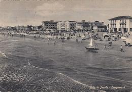 LIDO DI JESOLO-VENEZIA-LUNGOMARE-CARTOLINA VIAGGIATA.IL 29-5-1958 - Venezia (Venedig)