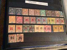 Lot Timbres Colonies Grande Comore X 33 - Non Classificati