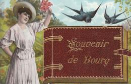 Bourg En Bresse (Ain) - Souvenir. Carte à Système. Couleurs. TBE. - Unclassified