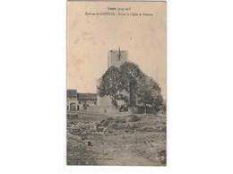 Lunéville - Ruines De L'Eglise De Blémery - Luneville
