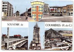 COURRIERES Souvenir De .... Multivues Blason Edit Cim . Voir Etat * - Andere Gemeenten