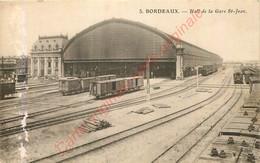 33.  BORDEAUX .   Hall De La Gare St-Jean . - Bordeaux