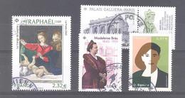 France Oblitérés : Madeleine Brès - Palais Galliera Paris - N°5396 (Raphaël) & 5426 (égalité) (cachet Rond) - Used Stamps