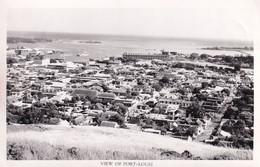 Port Louis Mauritius Panorama Aerial Real Photo Postcard - Zonder Classificatie