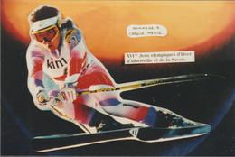 France Postcard 1992 Albertville Olympic Games - Mint (G125-4) - Inverno1992: Albertville