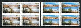 SPM MIQUELON 2001 N° 754/755 ** Blocs De 4 Neufs MNH Superbes C 16 € Saisons Printemps été Paysage Landscapes - Neufs