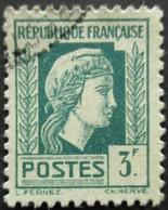 FRANCE Marianne D'Alger N°642 Oblitéré - 1944 Coq Et Marianne D'Alger