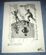 Europa / België 2015  Zwart-Wit Blaadje Van 4517/18** (Blok 226) Speelgoed / Jouets - Hojas Blanco & Negro