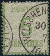 Elzas     .   Michel  .    4-I      .   O   .    Gebraucht - Norddeutscher Postbezirk