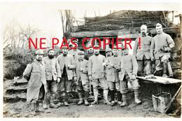 """PHOTO FRANCAISE - POILUS """" LES ECOUTEURS """" A FONTAINE LES CAPPY PRES DE CHUIGNES - DOMPIERRE SOMME - GUERRE 1914 1918 - 1914-18"""