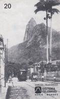 BRAZIL(Sistema Telebras) - Tram, Arquivo Geral Da Cidade Do Rio De Janeiro/Acervo, 12/96, Used - Trenes