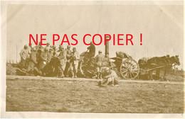 PHOTO FRANCAISE - LA CUISINE ROULANTE A PROYART PRES DE MORCOURT - CHUIGNOLLES SOMME - GUERRE 1914 1918 - 1914-18