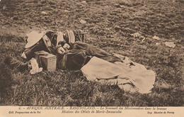 Afrique Australe - Basutoland - Le Sommeil Des Missinnaires Dans La Brousse - Lesotho