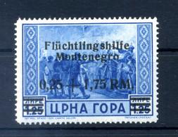 1944 MONTENEGRO Occ. Tedesca N.19 * - Deutsche Bes.: Montenegro
