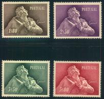1957, Almeida Garrett, Complete Fine MNH, Afinsa 827/830 - Unused Stamps