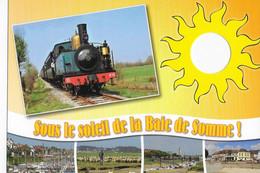 CPM  Baie De Somme  Les Bateaux Le Petit Train - Other Municipalities