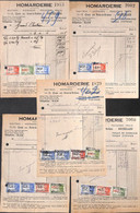 Bruxelles - Homarderie - Vismet - Lot 6 Factures 1946 - Food