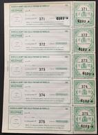 Colis Postaux De Paris Maury 69, 2 Volets : 60c. Vert Armoiries (Maury : 90x5 = 450 Euros) France – Cplot - Neufs