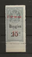 TIMBRES FISCAUX DE MONACO BOUGIES N°5  15 C  2/10 En Sus Sur 20 C Bleut  Neuf (**) Gomme Intacte - Fiscaux