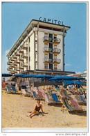 JESOLO LIDO, Jèxolo, Veneto, Venezia -   Hotel CAPITOL;  Spaggia,  Viaggiata  1966 - Andere Städte