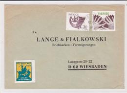 Pä Post Mot Nöd. Stads-Missionen On Circulated Letter - Sonstige