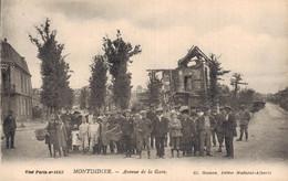H2002 - MONTDIDIER - D80 - Avenue De La Gare - Montdidier