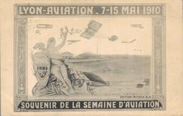 H2002 - LYON AVIATION 7-15 MAI 1910 - SOUVENIR DE LA SEMAINE D'AVIATION - D69 - Otros