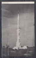 This Souvenir Card Was Flown By Rocket 1953 - USA