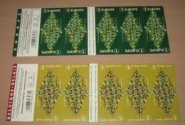 Boekje 165** & 166** Kerstmis Van 2018- Noël - Christmas /  Weihnachten / Navidad / X-mas / Natale 4827/28** - Carnet 1953-....