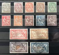 ALEXANDRIE 1902 - Série YT 19 / 33 NEUF* / MH Et 2 OBL - Voir Descriptif - CV 80 EUR - Neufs