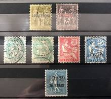LEVANT - LOT  NEUF* / MH Et OBL - Unused Stamps