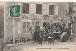15 SAINT ETIENNE DE CHOMEIL    CAFE SUR LA PLACE - Unclassified