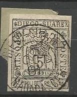 DIEGO-SUAREZ  N° 10 OBL TB / Signé CALVES / BRUN - Used Stamps