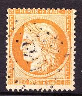 38 - 40c Orange Cérès Siège - Oblitéré Losange GC 1342 (FRETIGNY - Saône-et-Loire) - Très Beau - 1870 Siège De Paris