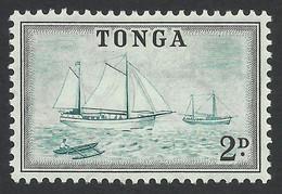 Tonga, 2 D. 1953, Sc # 102, Mi # 102, MH - Tonga (...-1970)