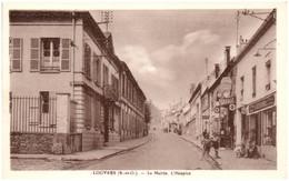 95 LOUVRES - La Mairie. L'hospice - Louvres