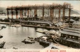 Japan - Nipan - Nipon - Gantry Crane Dockyard - Nagasaki - 1915 - Non Classés