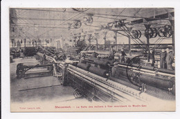 CP 81 MAZAMET La Salle Des Metiers à Filer Renvideurs Du Moulin Gau - Mazamet