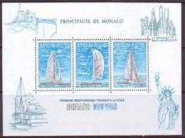 A - MONACO BF N°32** Année 1985 LUXE (cote 7.75) - Blocks & Sheetlets