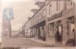14 SAINT-MARTIN-DES-BESACES. - Rue De L'Eglise (côté Gauche - Other Municipalities