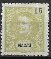 Macau Macao Mint Hinged 1900 120 Euros - Unused Stamps